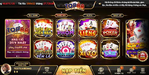 kho game tại TOP88